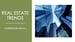 Real Estate Trends Webinar