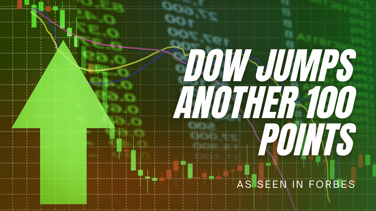 Dow Jumps Another 100 Points as $1.9 Trillion Stimulus Plan Continues to Boost Market