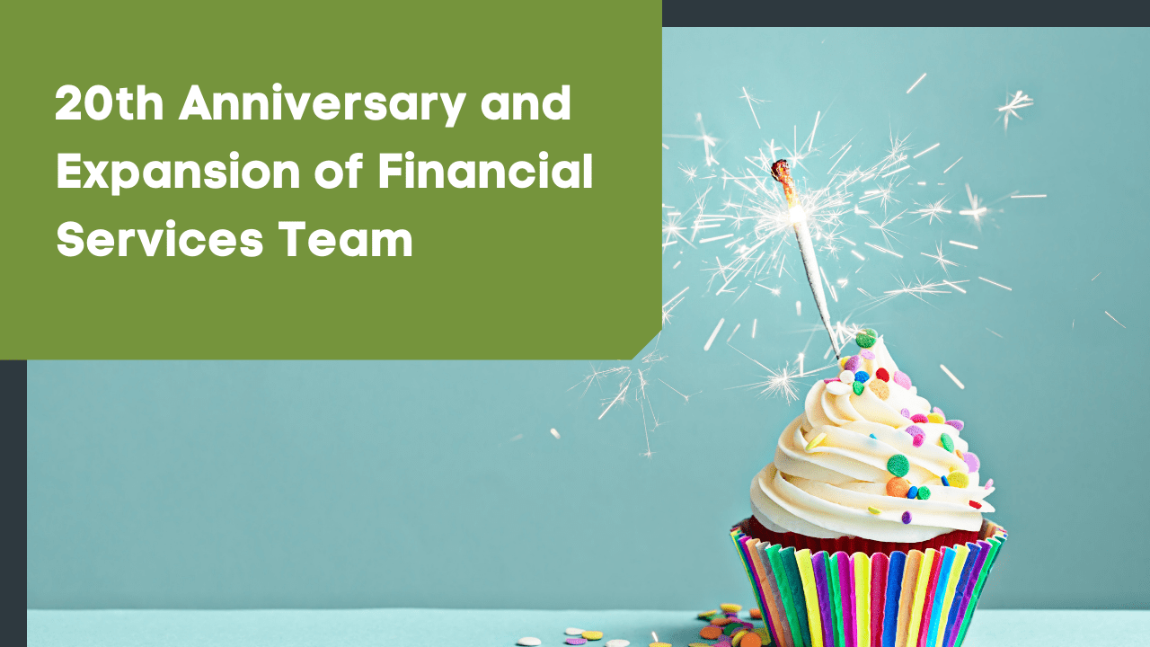 Cornerstone Wealth Celebrates 20th Anniversary and Announces Expansion of Financial Services Team