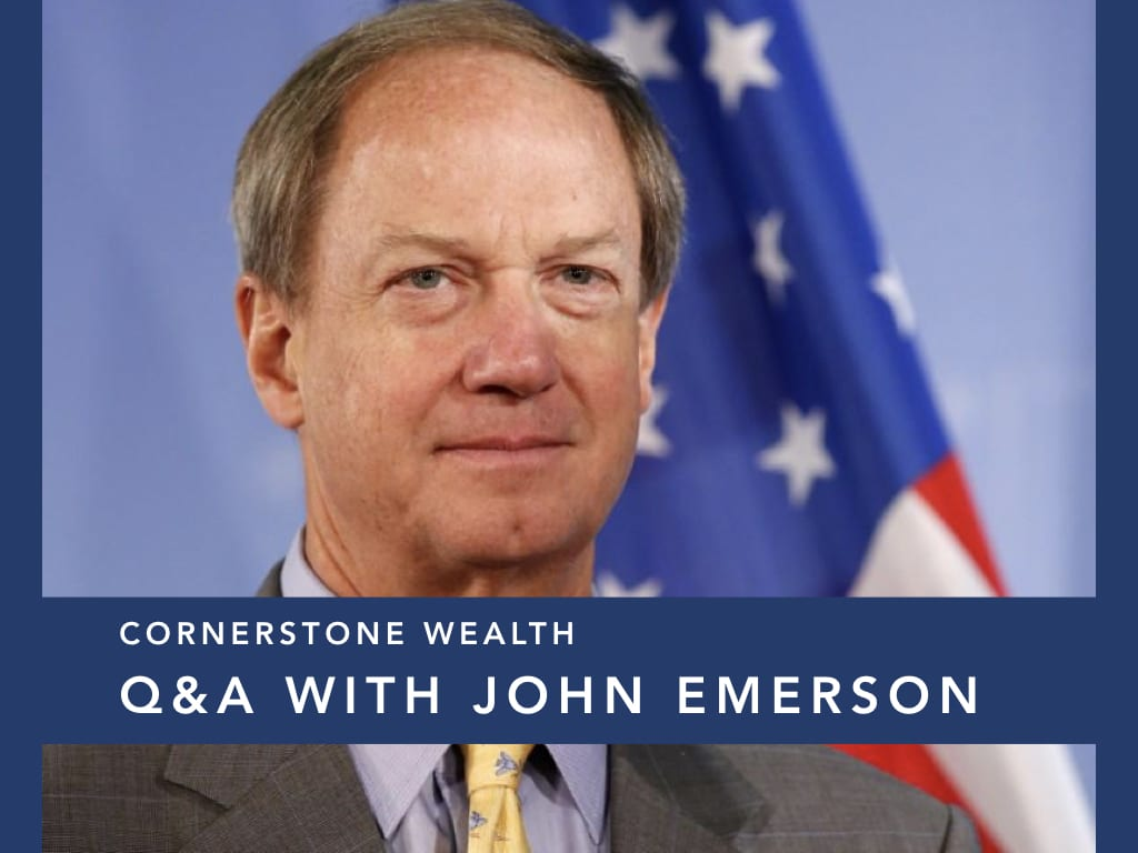 Q&A with Former US Ambassador to Germany, John Emerson